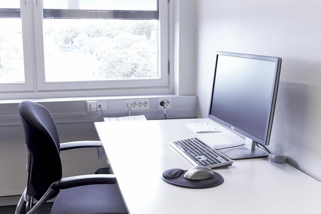 Lyse og moderne kontorer